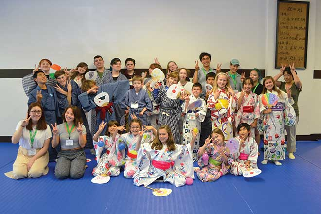 Laughing learning during 2018 jcccw japanese summer camp north by m4hsunfo